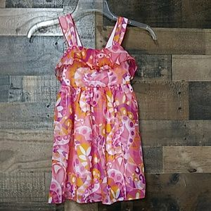 George multicolored kids dress S with ruffles